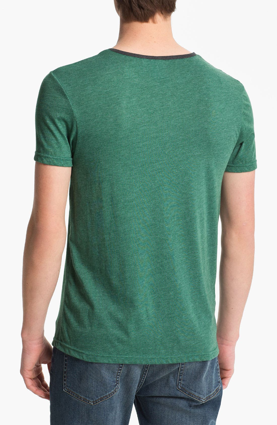 Alternate Image 2  - Topman Marled T-Shirt