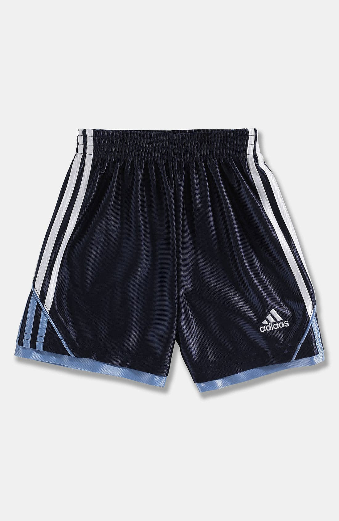 Alternate Image 1 Selected - adidas 'Prime Dazzle' Shorts (Toddler)