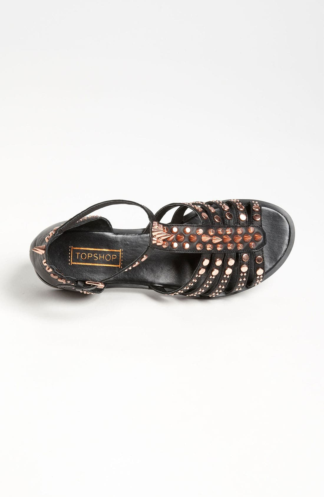 Alternate Image 3  - Topshop 'Farah' Multi Stud T-Bar Sandal