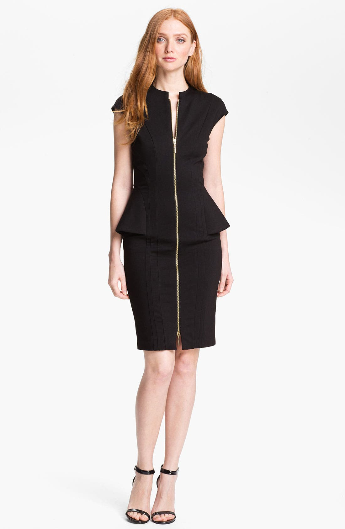 Alternate Image 1  - Ted Baker London Stretch Sheath Dress