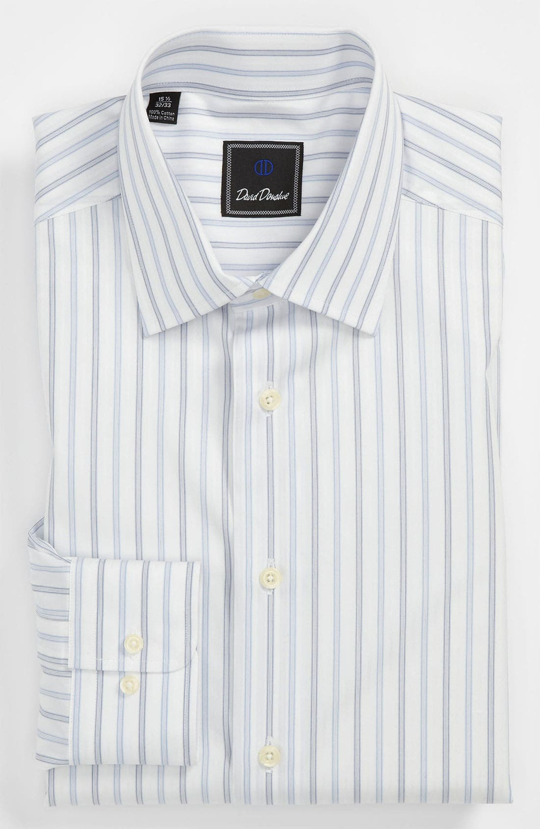 Main Image - David Donahue Regular Fit Dress Shirt