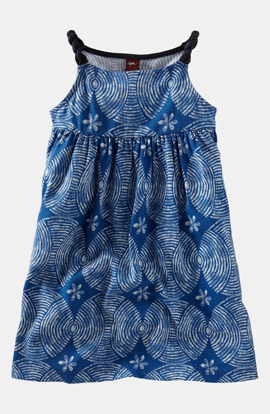 Alternate Image 1 Selected - Tea Collection 'Sand Circle' Dress (Toddler, Little Girls & Big Girls)