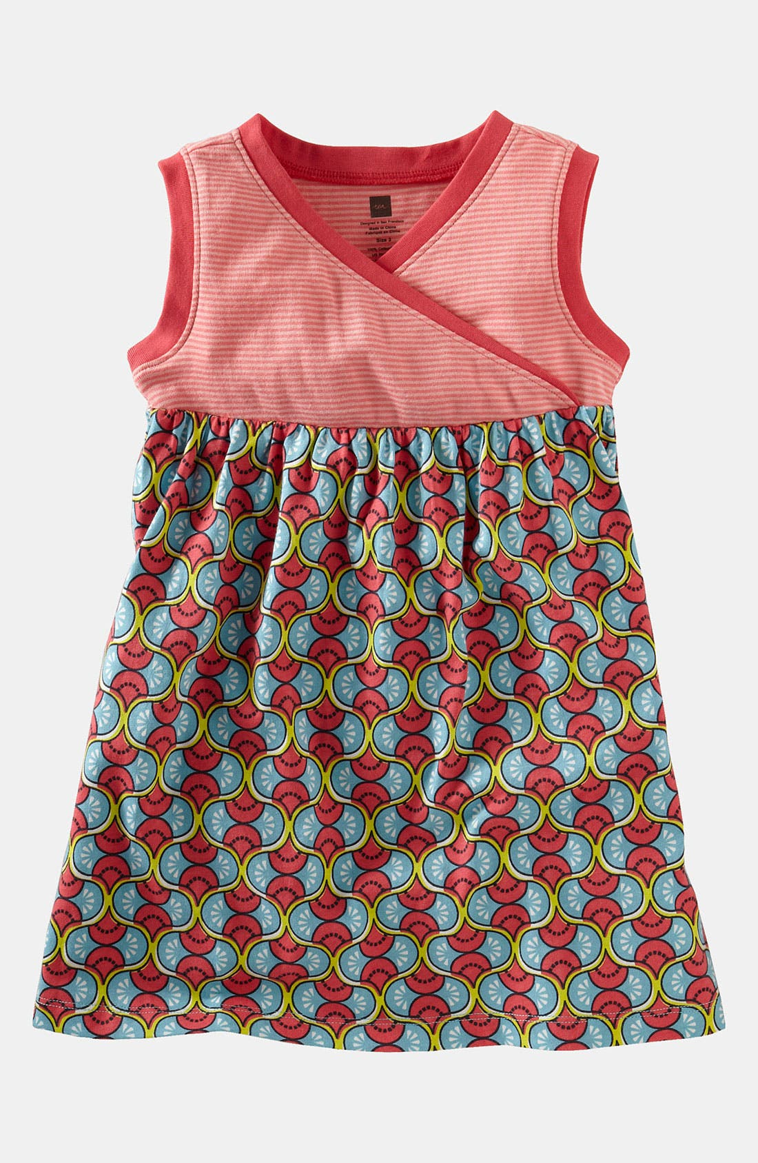 Alternate Image 1 Selected - Tea Collection 'Domba' Tank Dress (Baby)