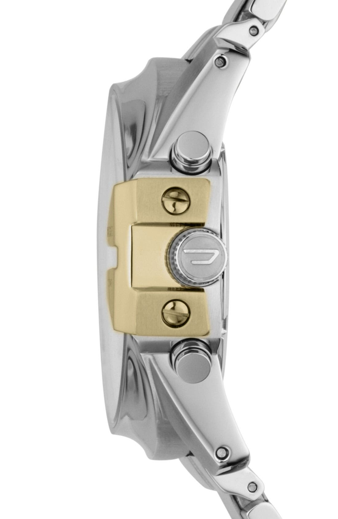 Alternate Image 2  - DIESEL® 'Master Chief' Chronograph Bracelet Watch, 45mm
