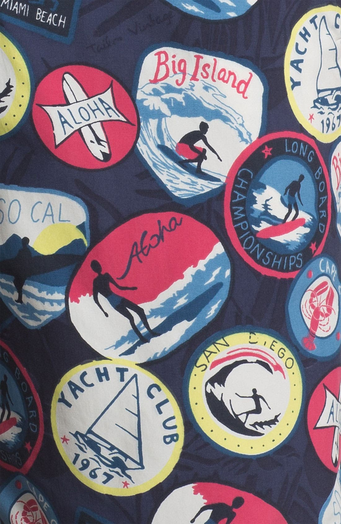 Alternate Image 3  - Tailor Vintage Hybrid Board Shorts