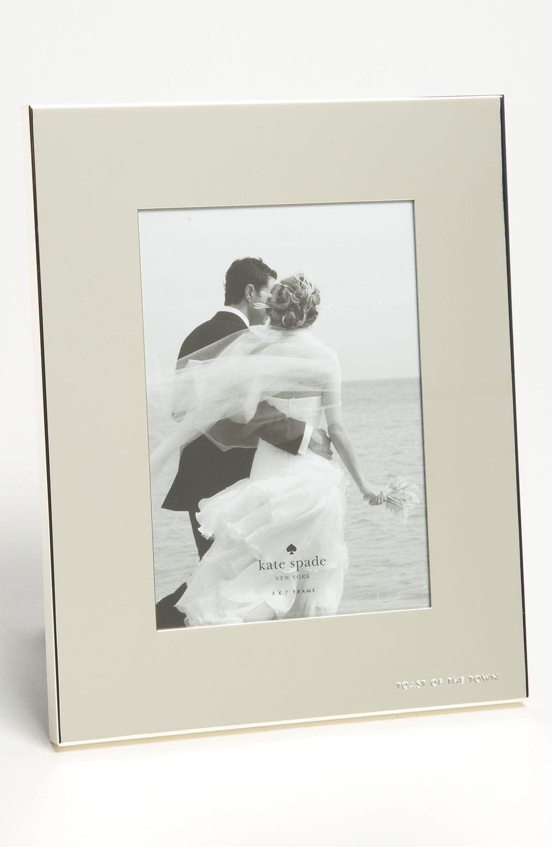 Main Image - kate spade new york 'picture perfect™ - toast of the town' picture frame (5x7)
