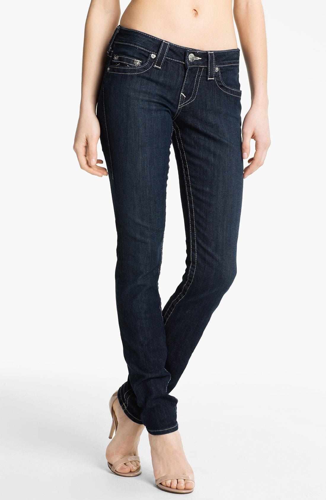 Alternate Image 1  - True Religion Brand Jeans 'Stella' Skinny Jeans (Lonestar)
