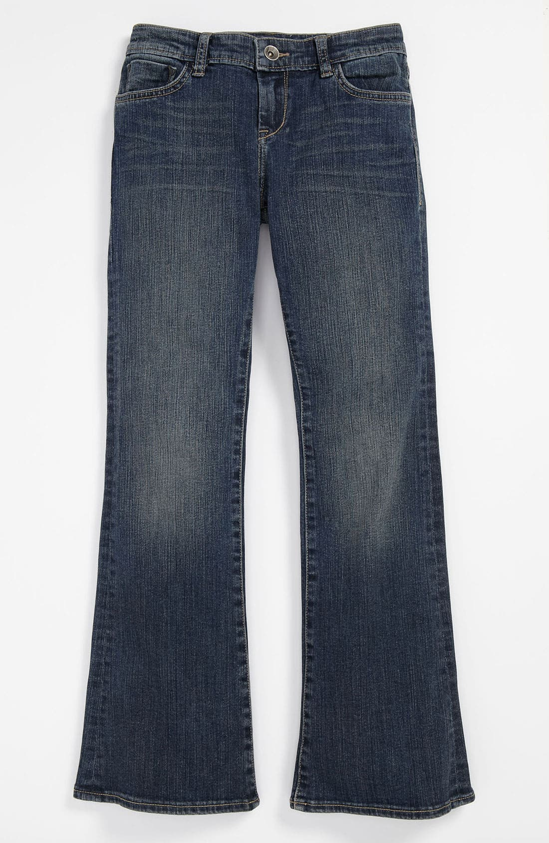 Alternate Image 2  - !iT JEANS Bootcut Jeans (Big Girls)