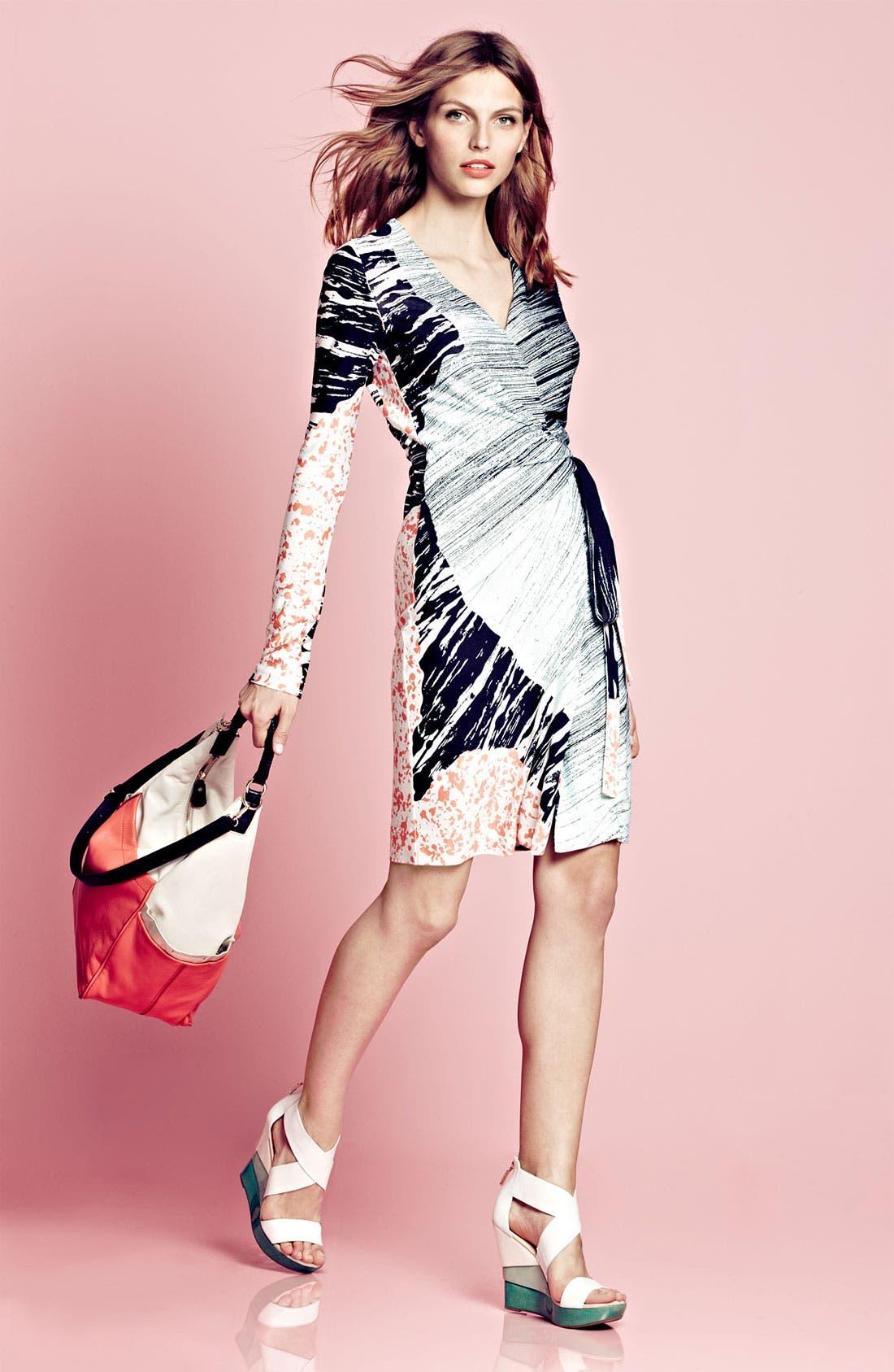 Alternate Image 5  - Diane von Furstenberg 'Valencia' Silk Wrap Dress