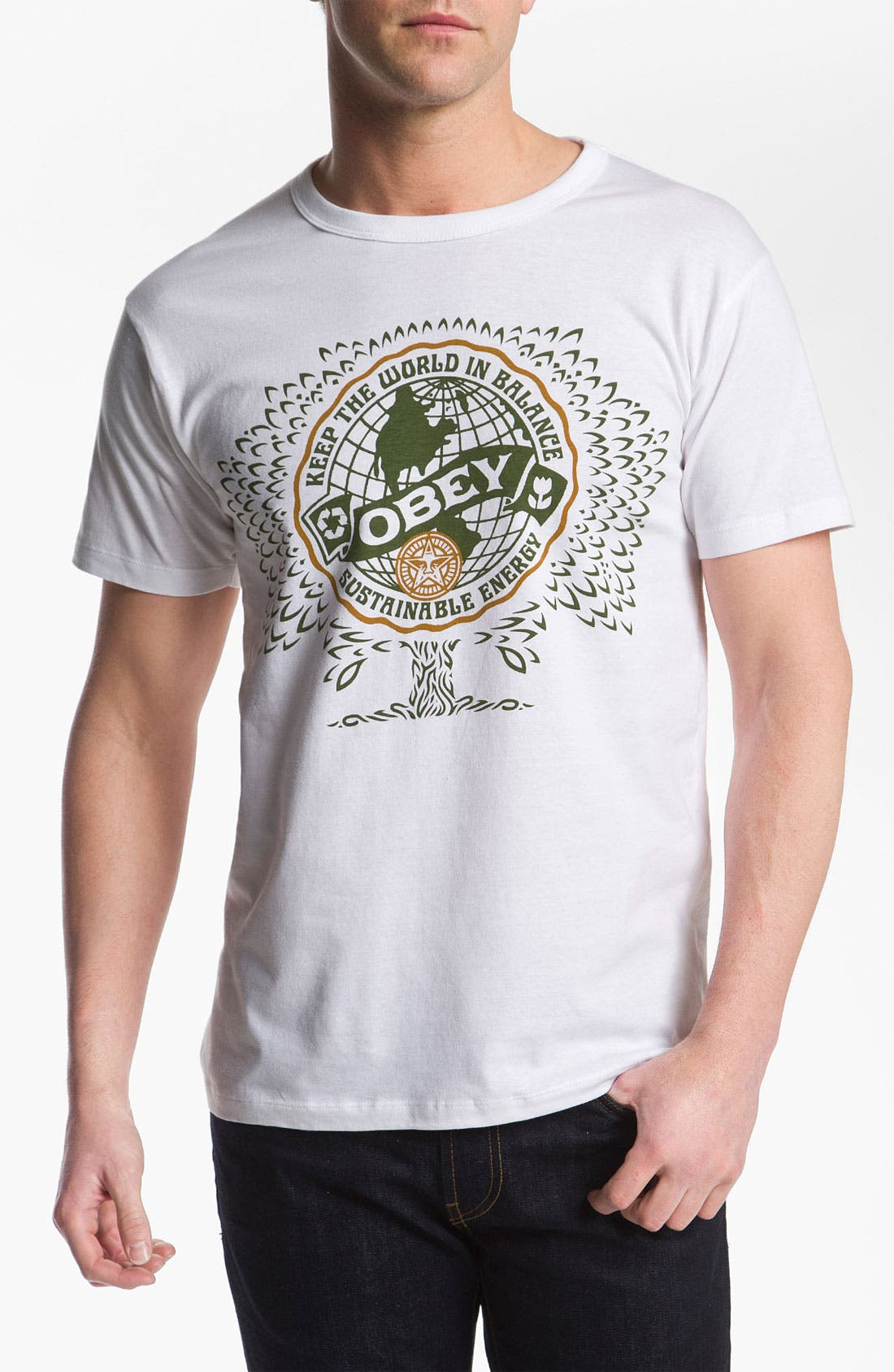 Alternate Image 1 Selected - Obey 'World Balance' T-Shirt