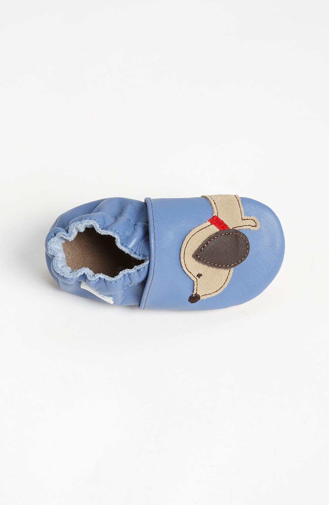 Alternate Image 3  - Robeez® Dachshund Slip-On (Baby & Walker)
