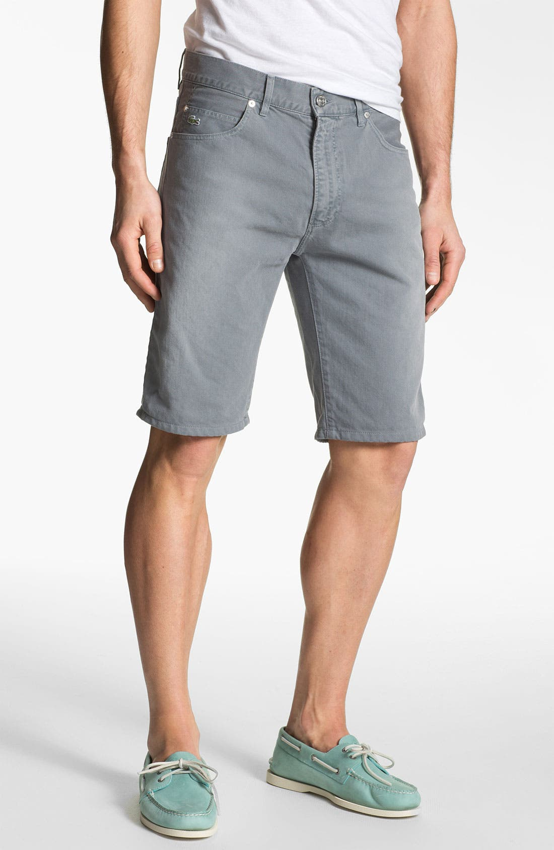 Alternate Image 1 Selected - Lacoste L!VE Twill Bermuda Shorts