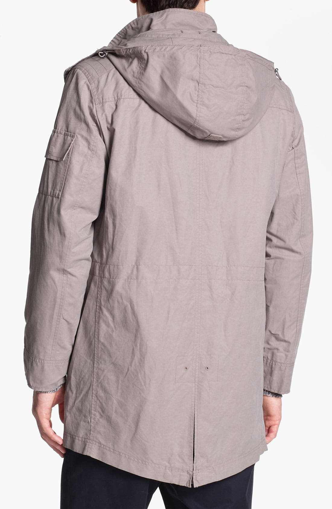 Alternate Image 2  - Cole Haan Hooded Jacket
