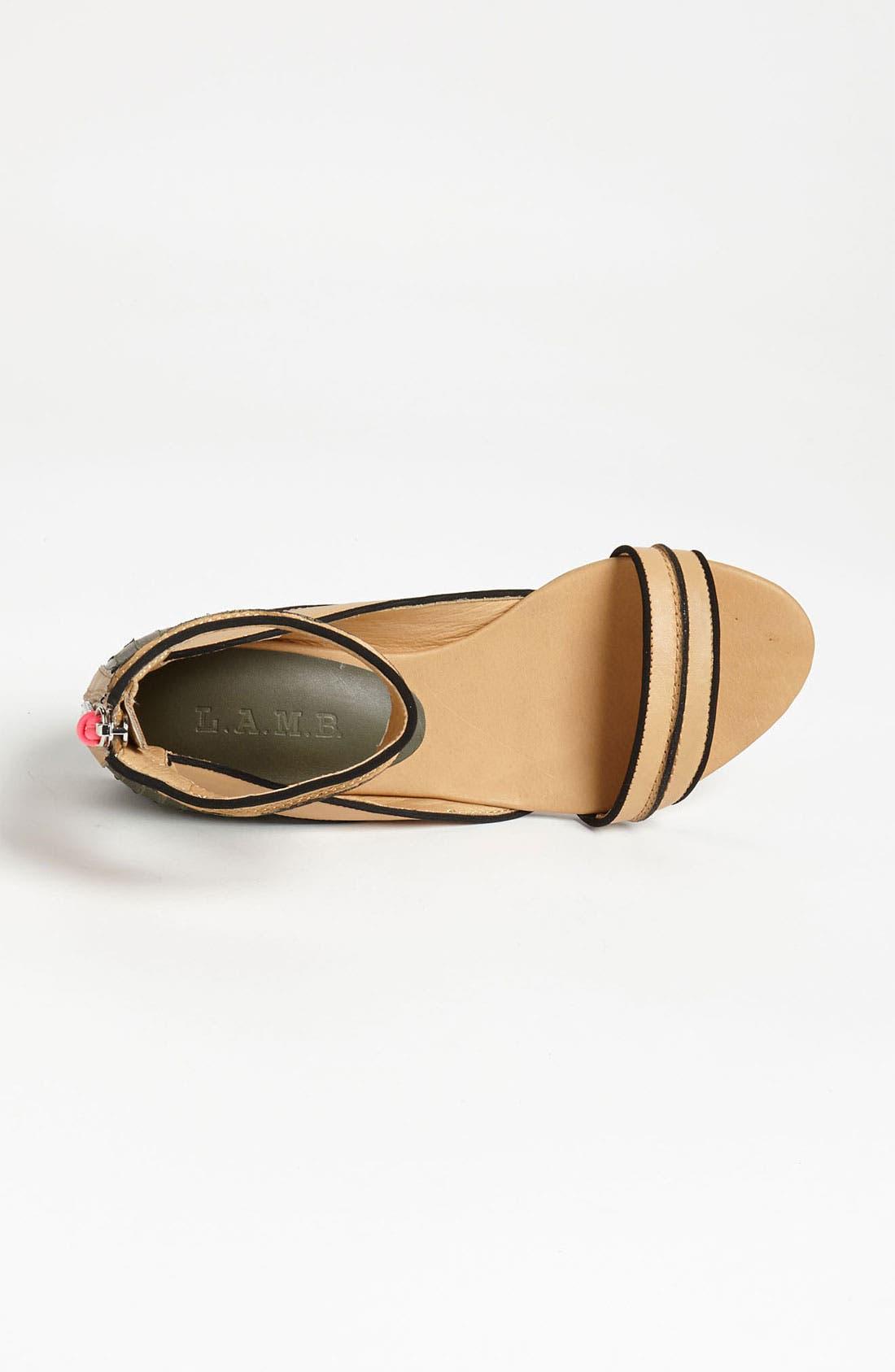 Alternate Image 3  - L.A.M.B. 'Ciara' Sandal