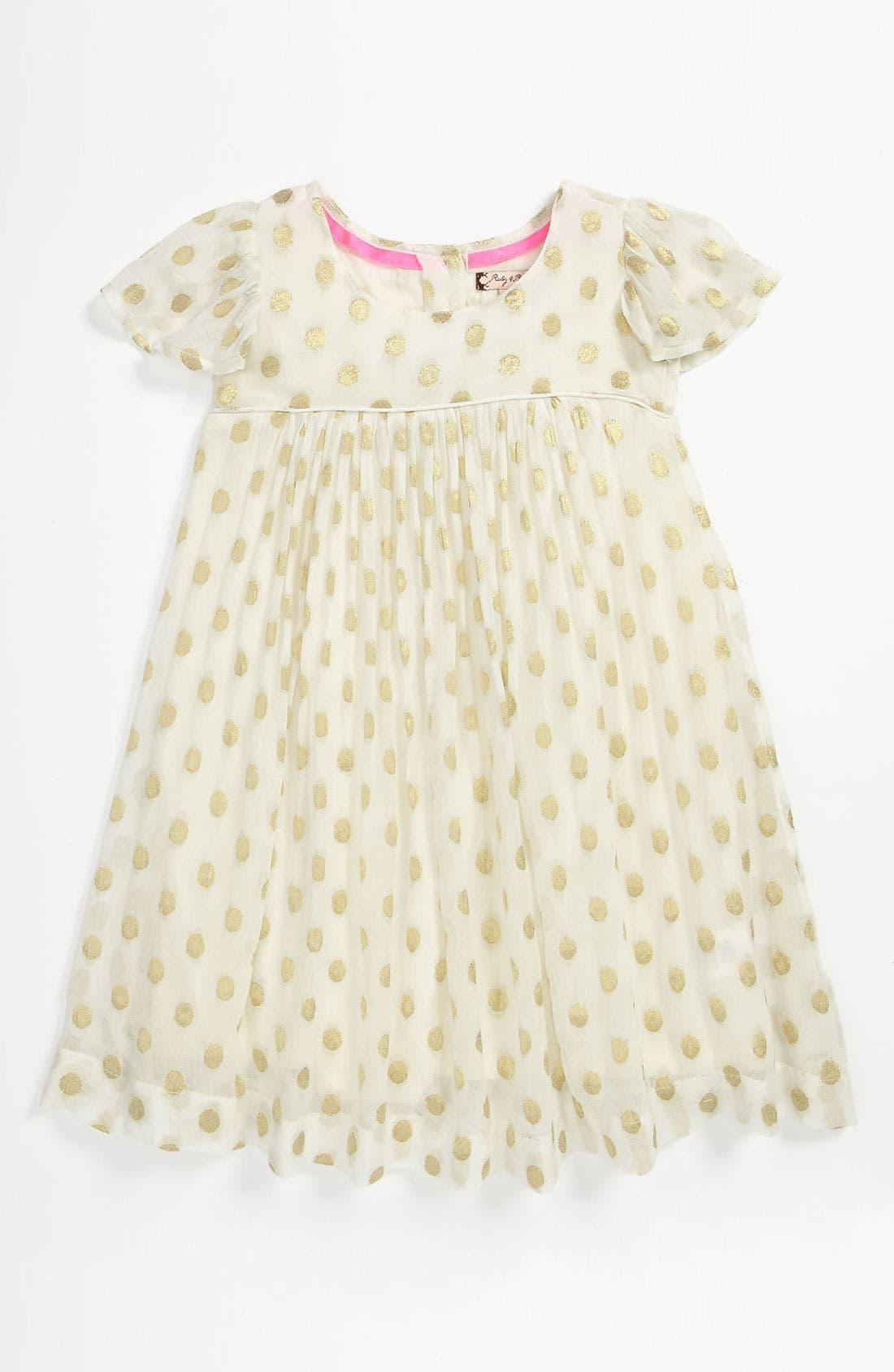 Alternate Image 1 Selected - Ruby & Bloom 'Tabitha' Dress (Toddler)