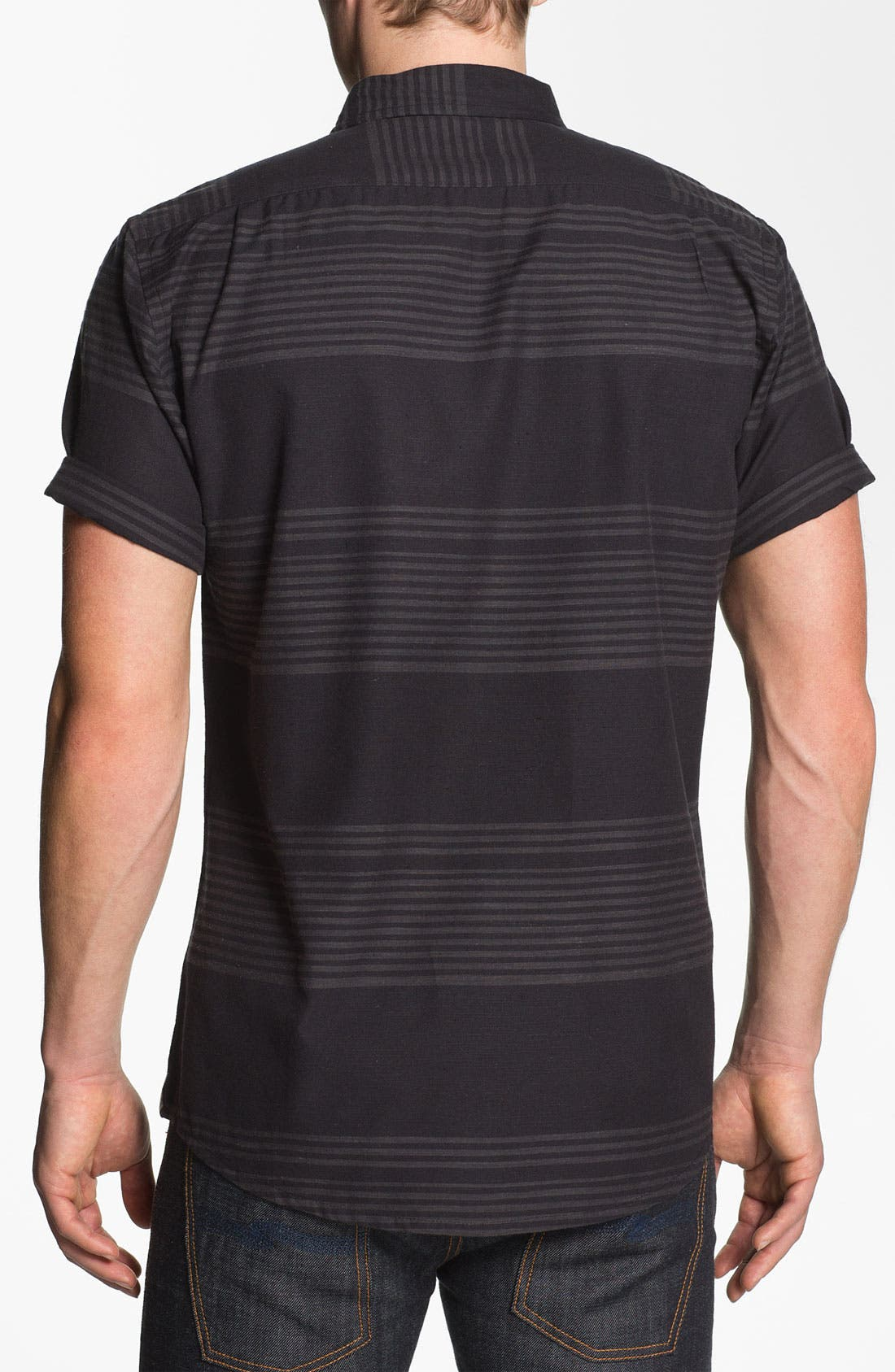 Alternate Image 2  - Ezekiel 'Clampett' Stripe Woven Shirt