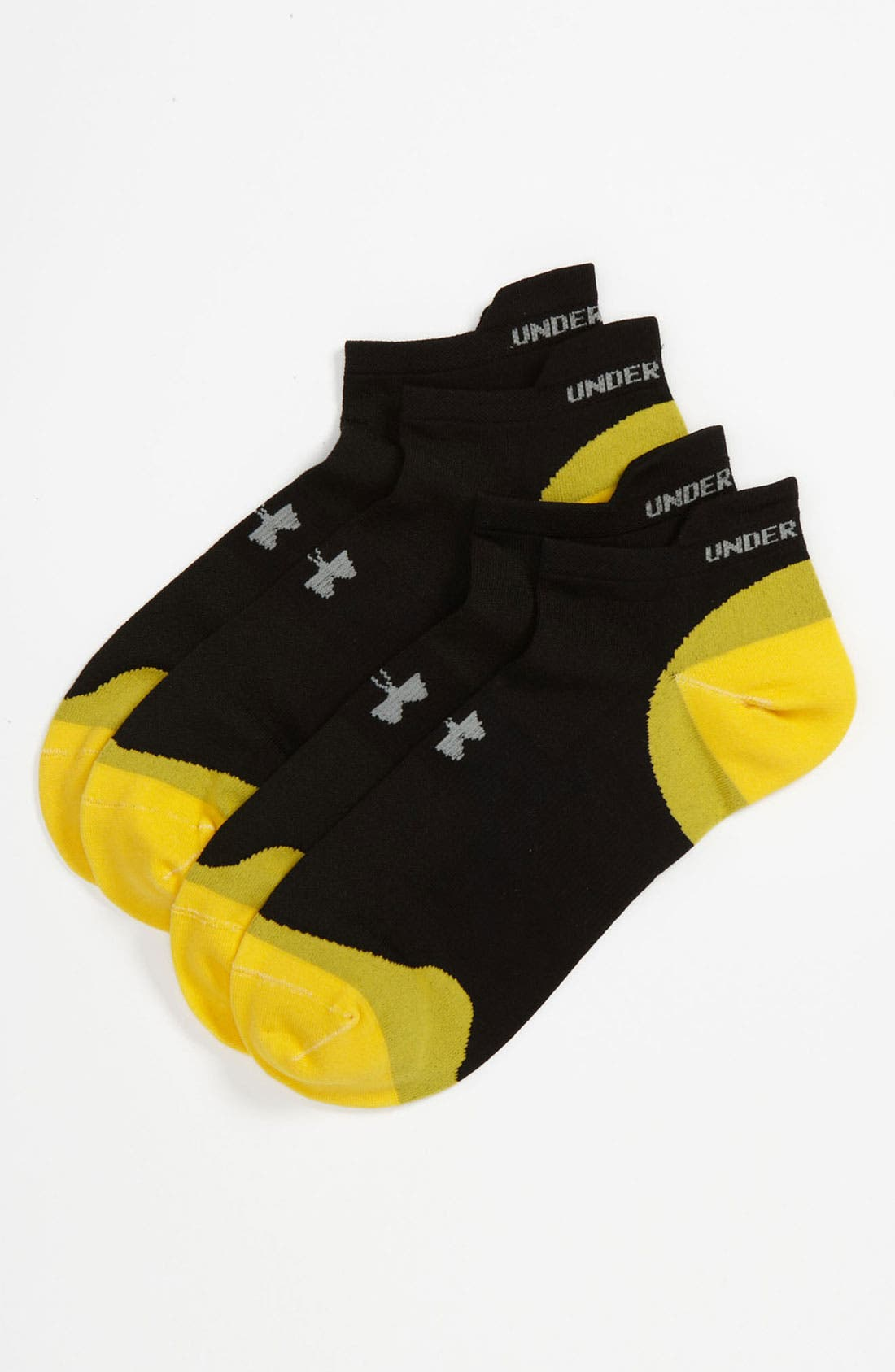 Alternate Image 1 Selected - Under Armour 'Ultra Lite' Running Socks (2-Pack)