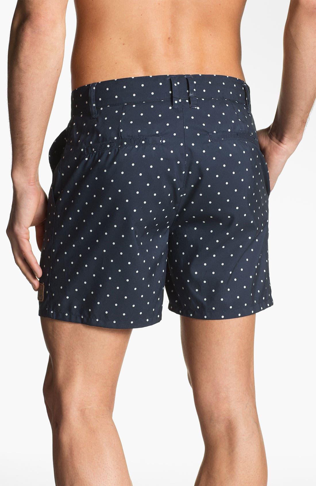 Alternate Image 2  - Obey 'Lido Island' Swim Shorts