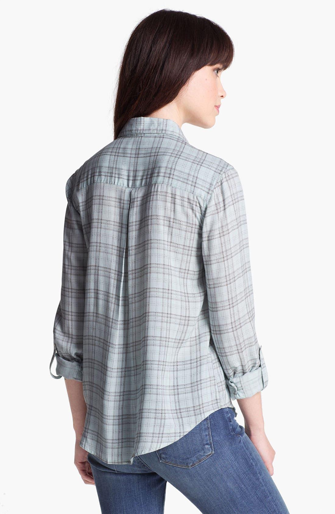 Alternate Image 2  - Soft Joie Plaid Pocket Shirt