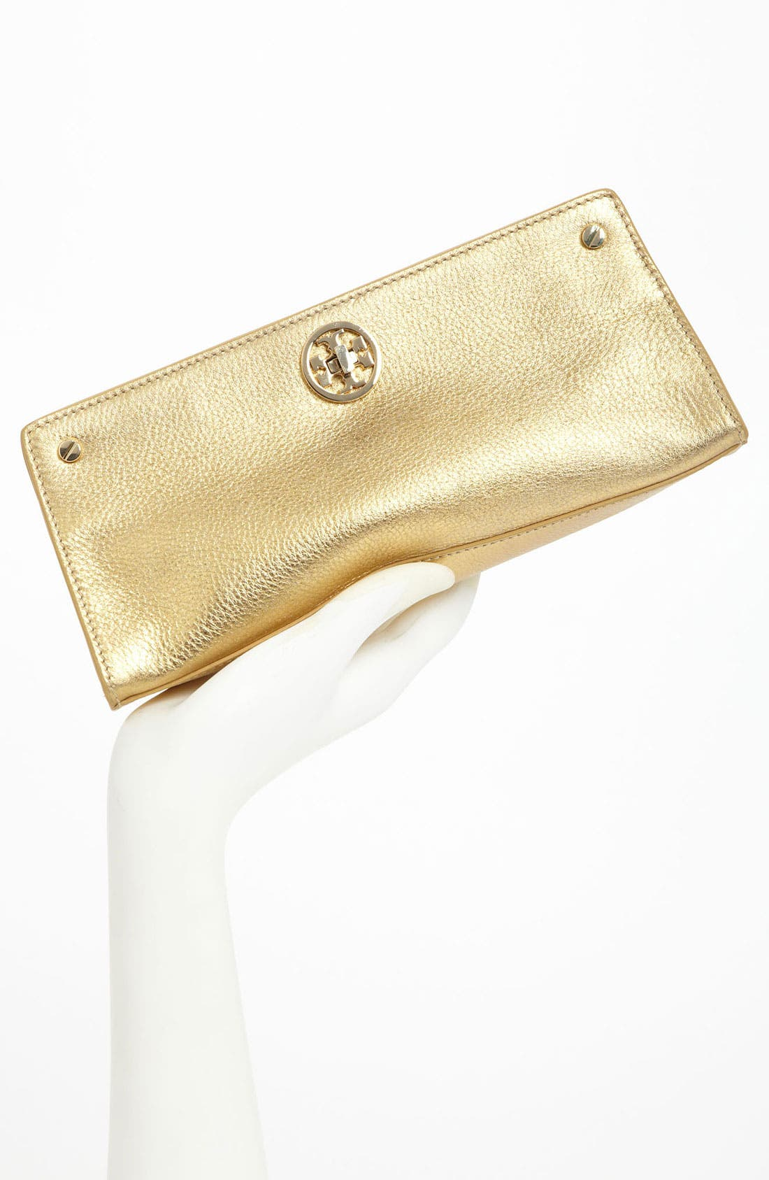 Alternate Image 2  - Tory Burch 'Austin' Leather Clutch