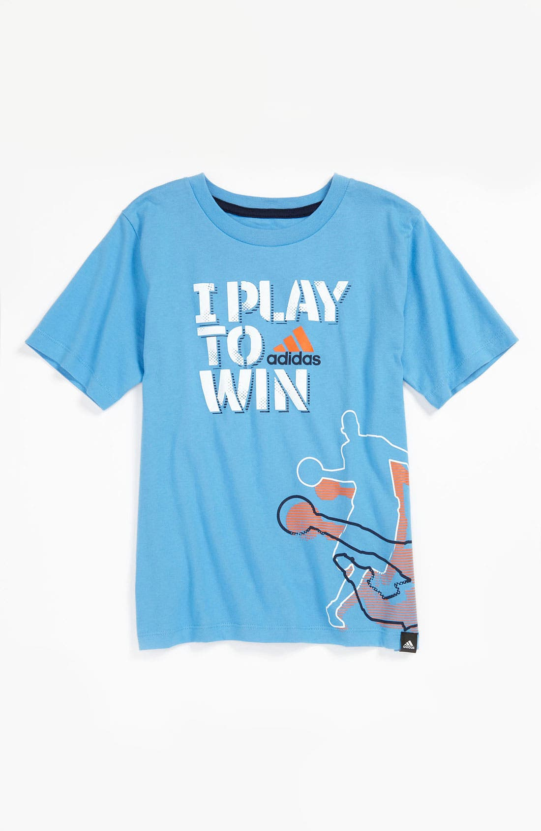 Alternate Image 1 Selected - adidas 'Play to Win' T-Shirt (Little Boys)