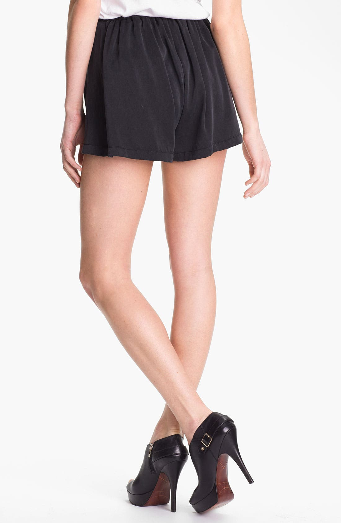 Alternate Image 2  - Man Repeller X PJK Silk Shorts