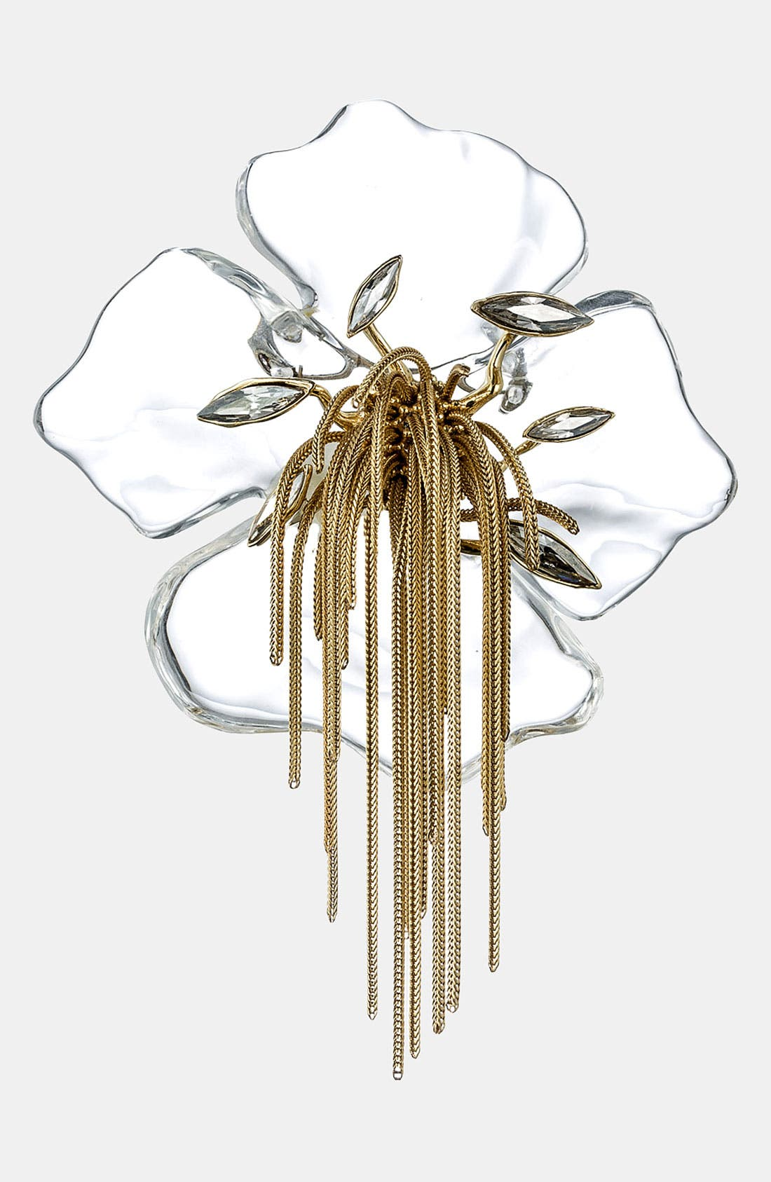 Main Image - Alexis Bittar 'Lucite® - Ophelia' Pansy Pin