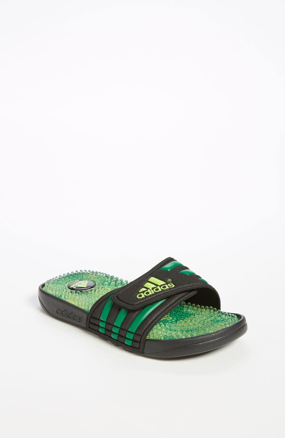Main Image - adidas 'Adissage - Camo' Sandal (Toddler, Little Kid & Big Kid)