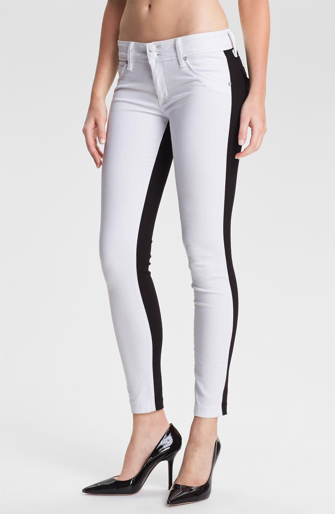 Alternate Image 1 Selected - Hudson Jeans 'Collin' Skinny Stretch Jeans (Vice Versa)