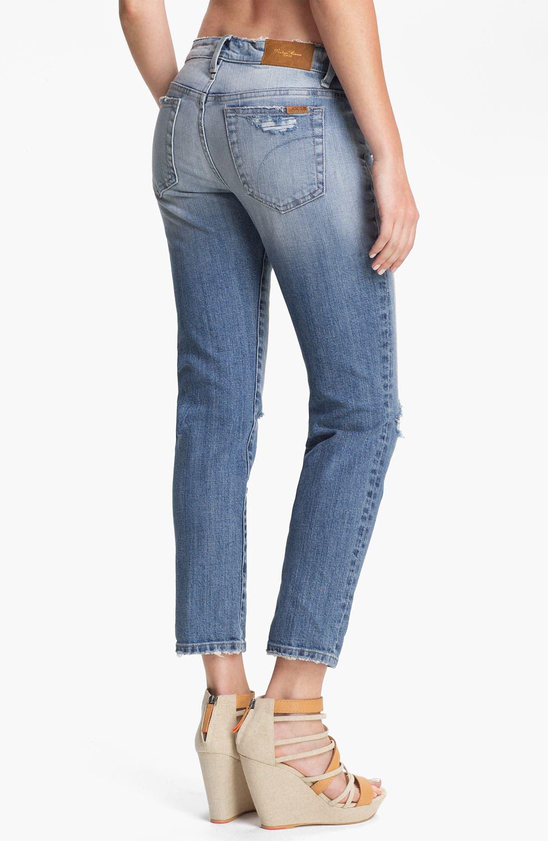 Alternate Image 2  - Joe's 'High Water' Relaxed Crop Jeans (Keri Vintage Reserve)