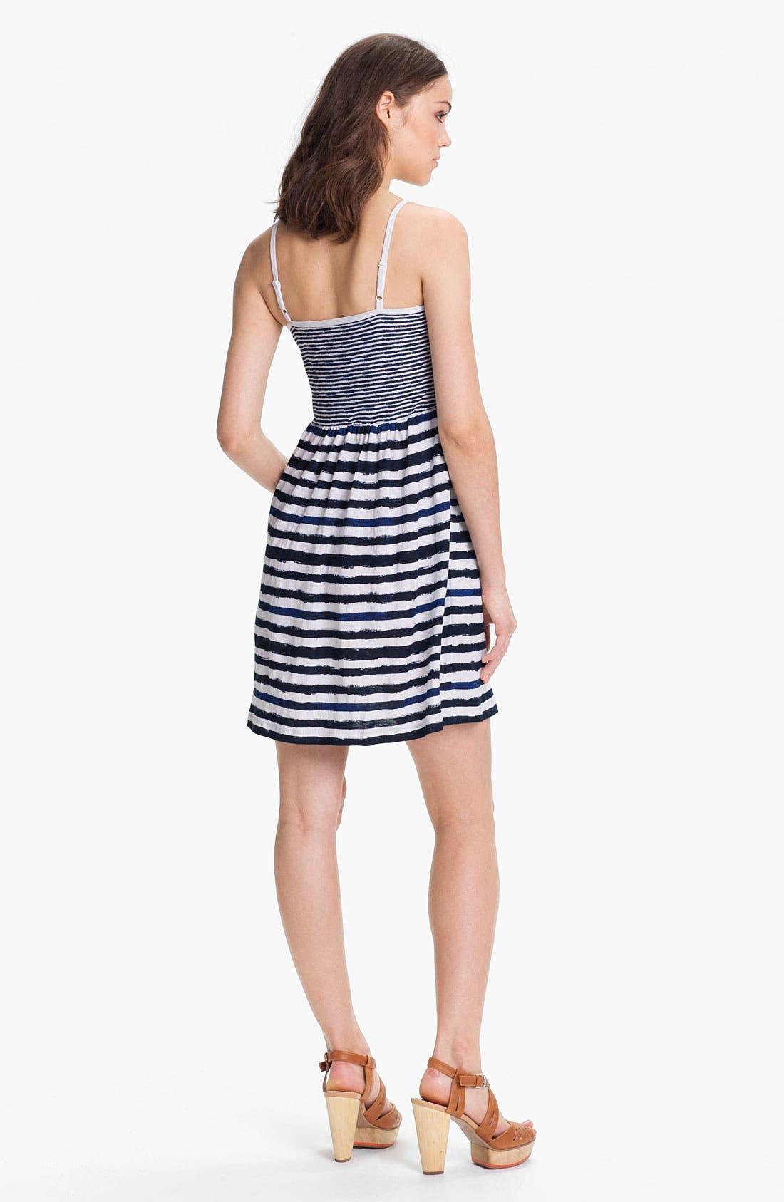 Alternate Image 2  - Caslon Mix Stripe Knit Dress