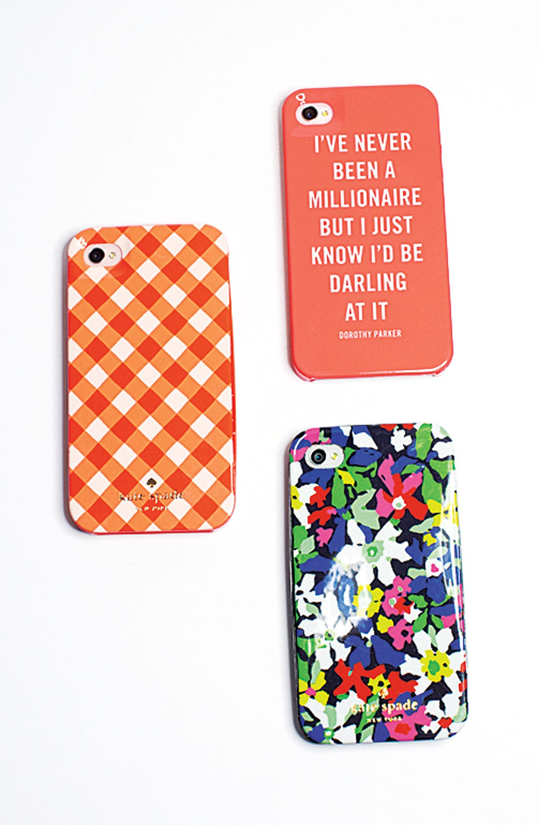 Alternate Image 3  - kate spade new york gingham iPhone 5 & 5S case