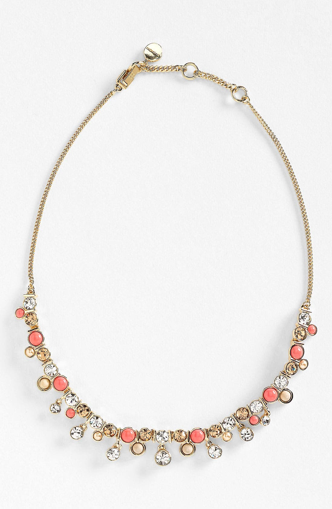 Alternate Image 1 Selected - Givenchy 'Lark' Crystal & Bead Frontal Necklace