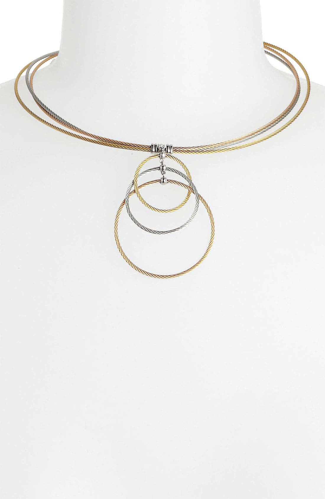 Alternate Image 1 Selected - ALOR® Tricolor Necklace