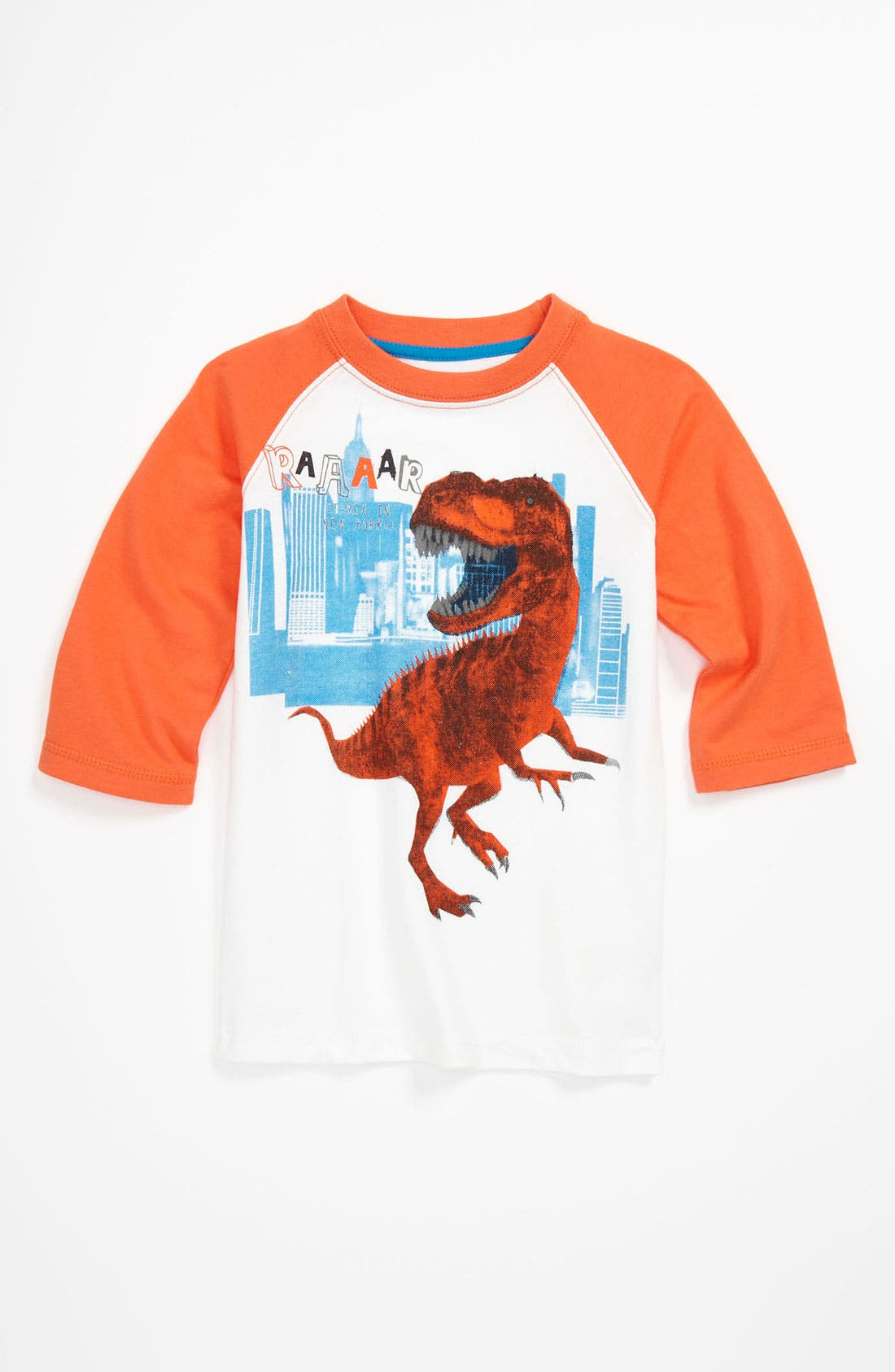 Alternate Image 1 Selected - Pumpkin Patch Baseball T-Shirt (Toddler)