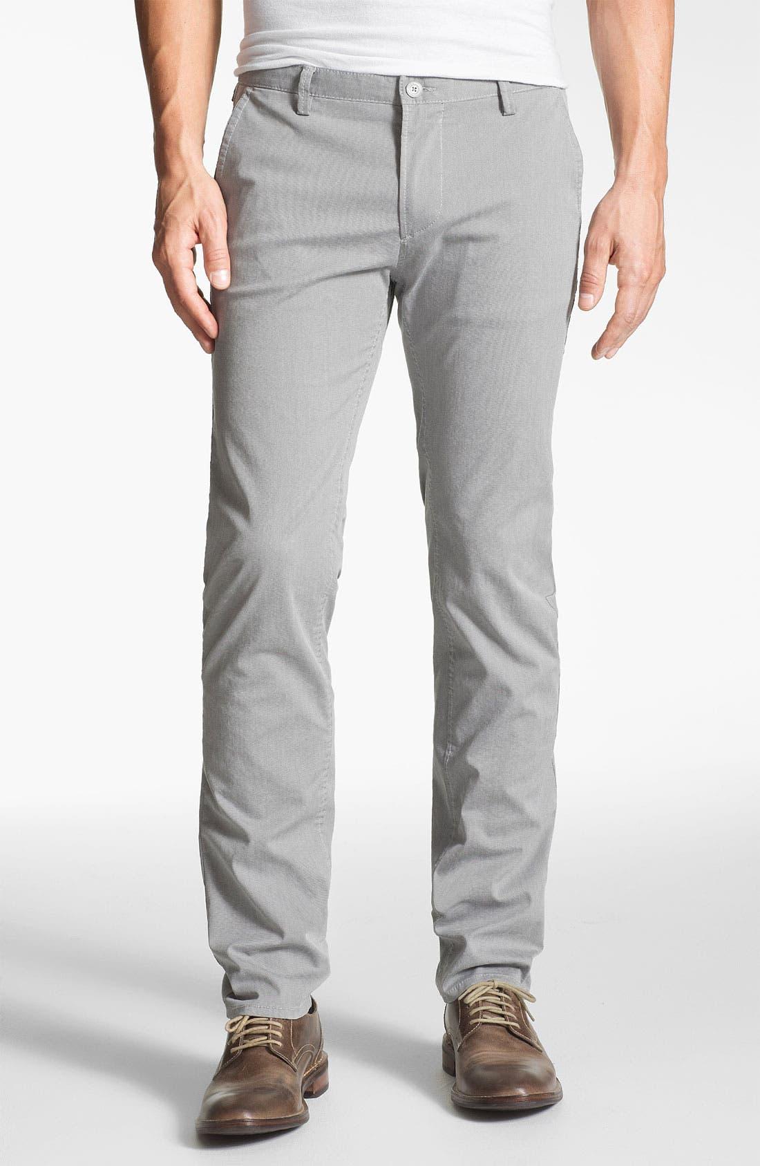 Alternate Image 1 Selected - BOSS HUGO BOSS 'Rice' Slim Fit Pants