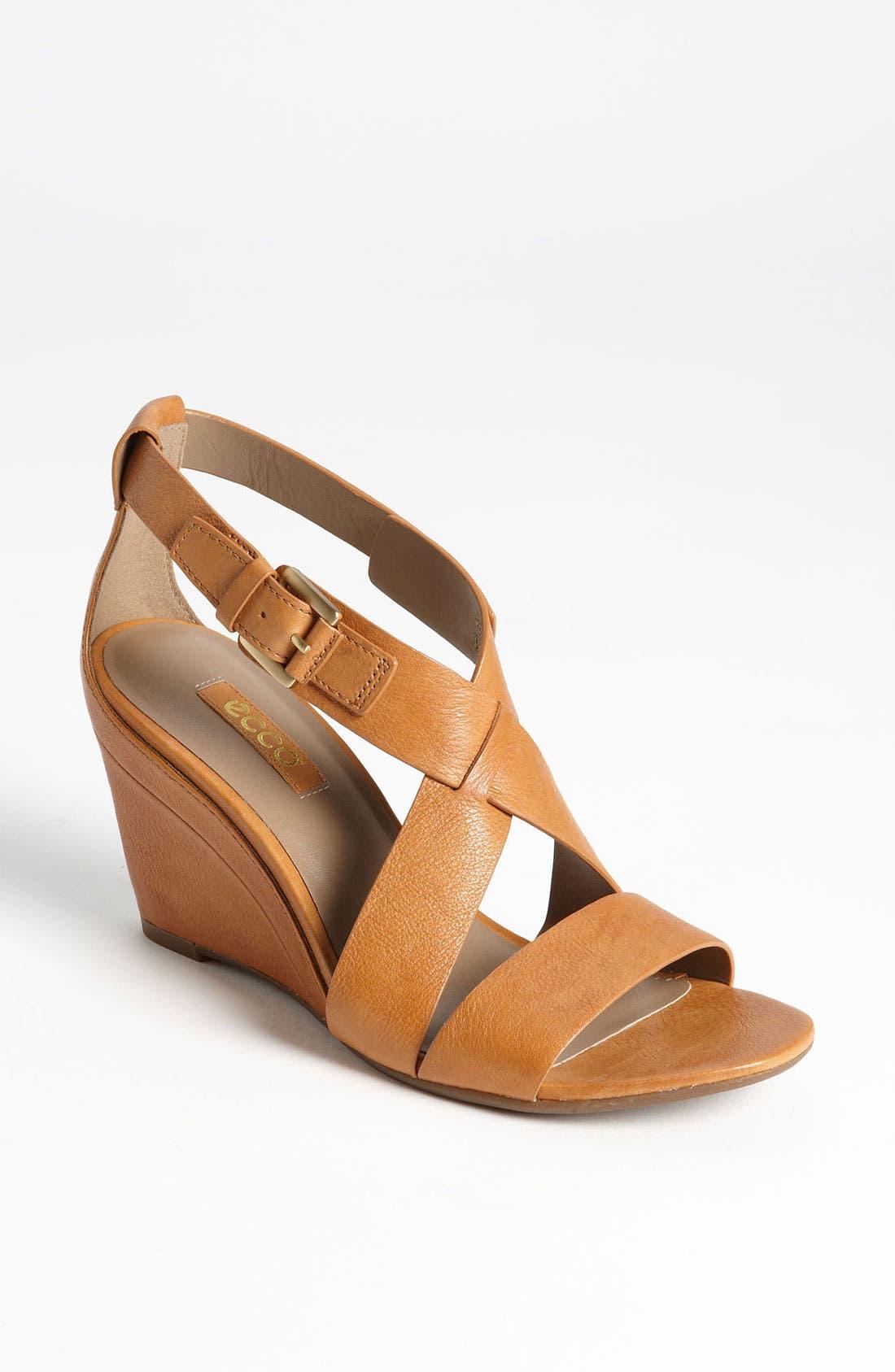 Main Image - ECCO 'Ossima' Wedge Sandal