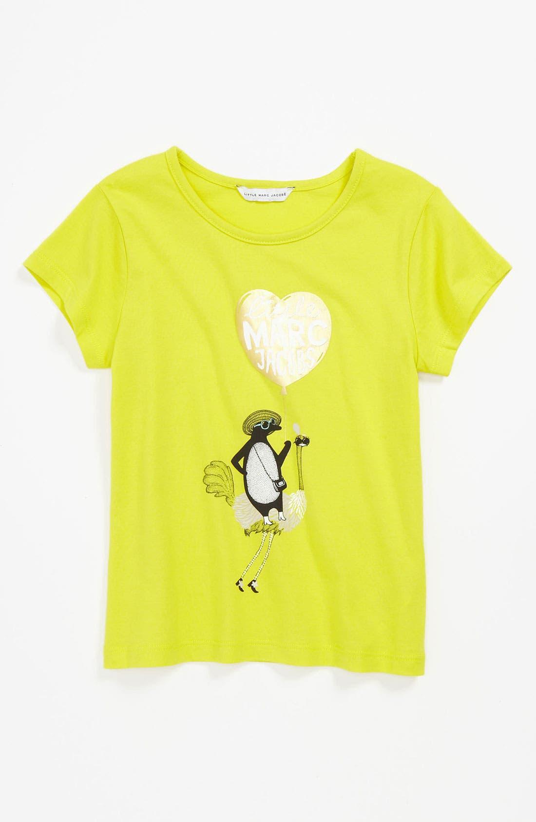Main Image - LITTLE MARC JACOBS Graphic Tee (Little Girls & Big Girls)