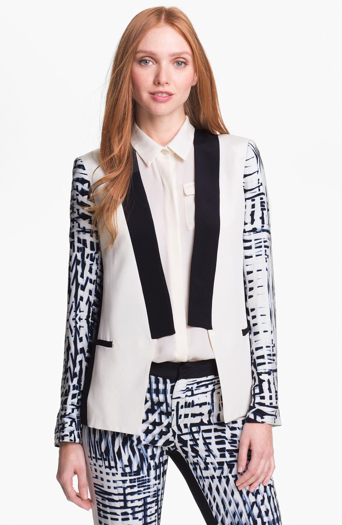 Main Image - Parker 'Reef' Silk Blazer