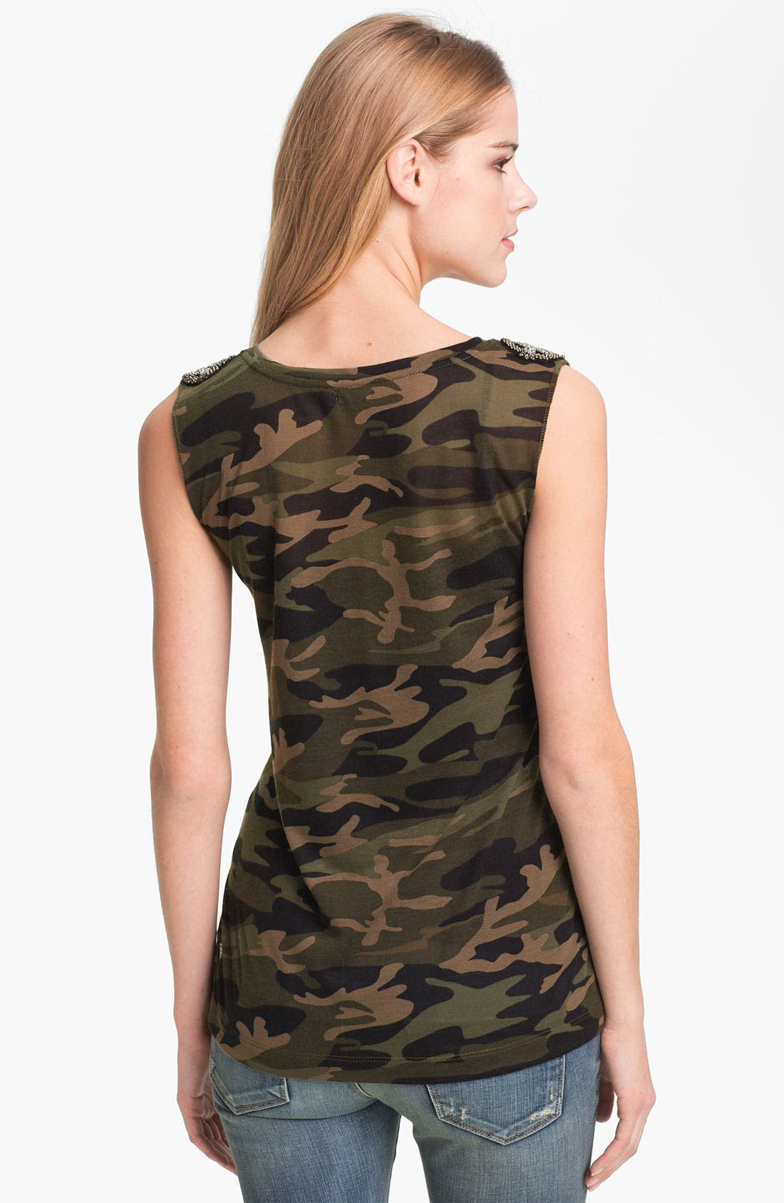 Alternate Image 2  - KUT from the Kloth 'Luna' Camo Top