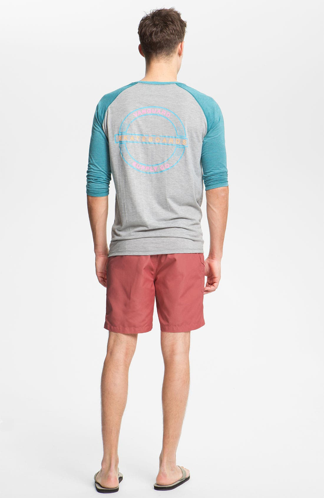 Alternate Image 5  - Saltbox Board Shorts