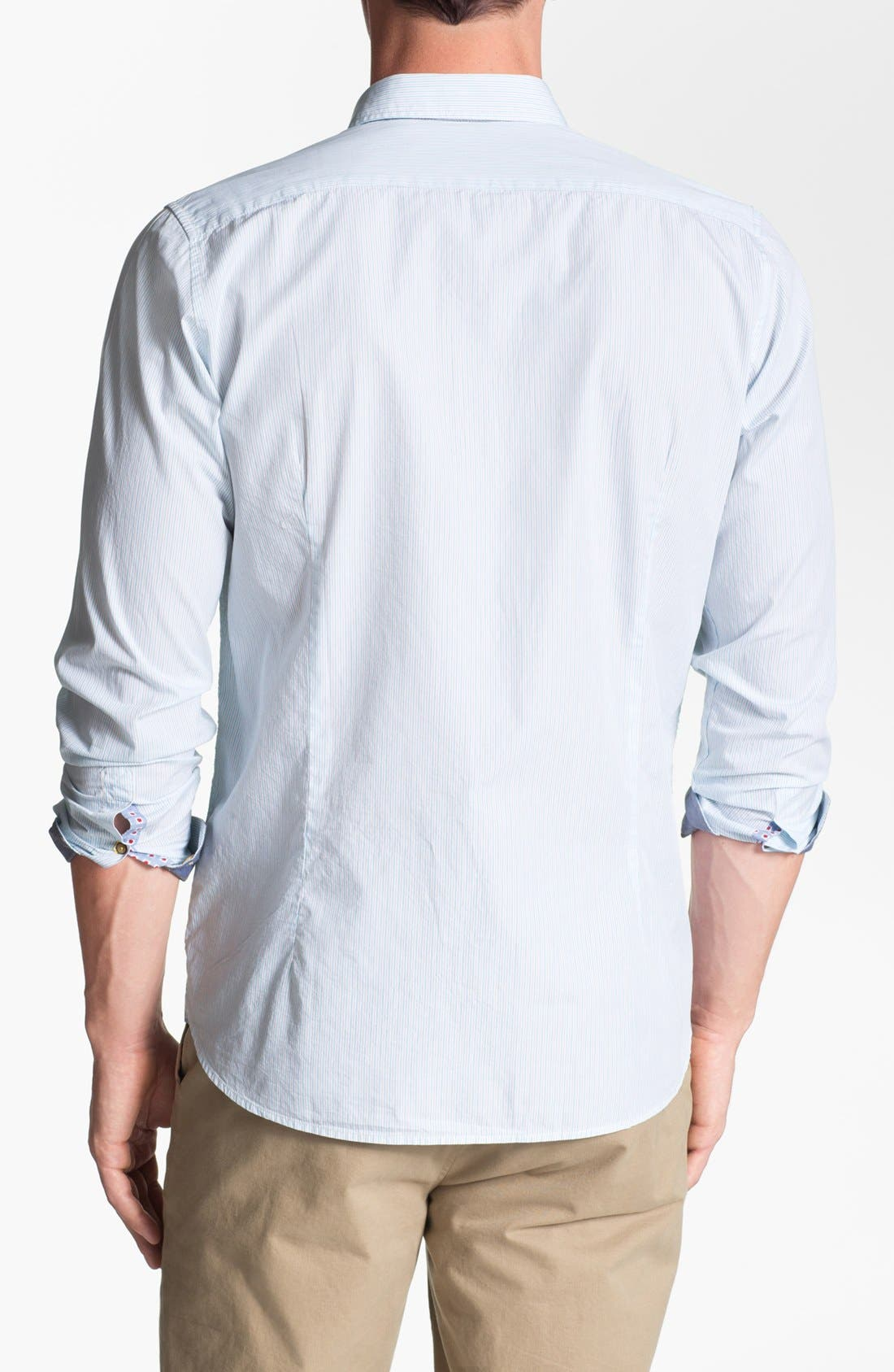 Alternate Image 2  - Ted Baker London 'Dezfed' Trim Fit Sport Shirt