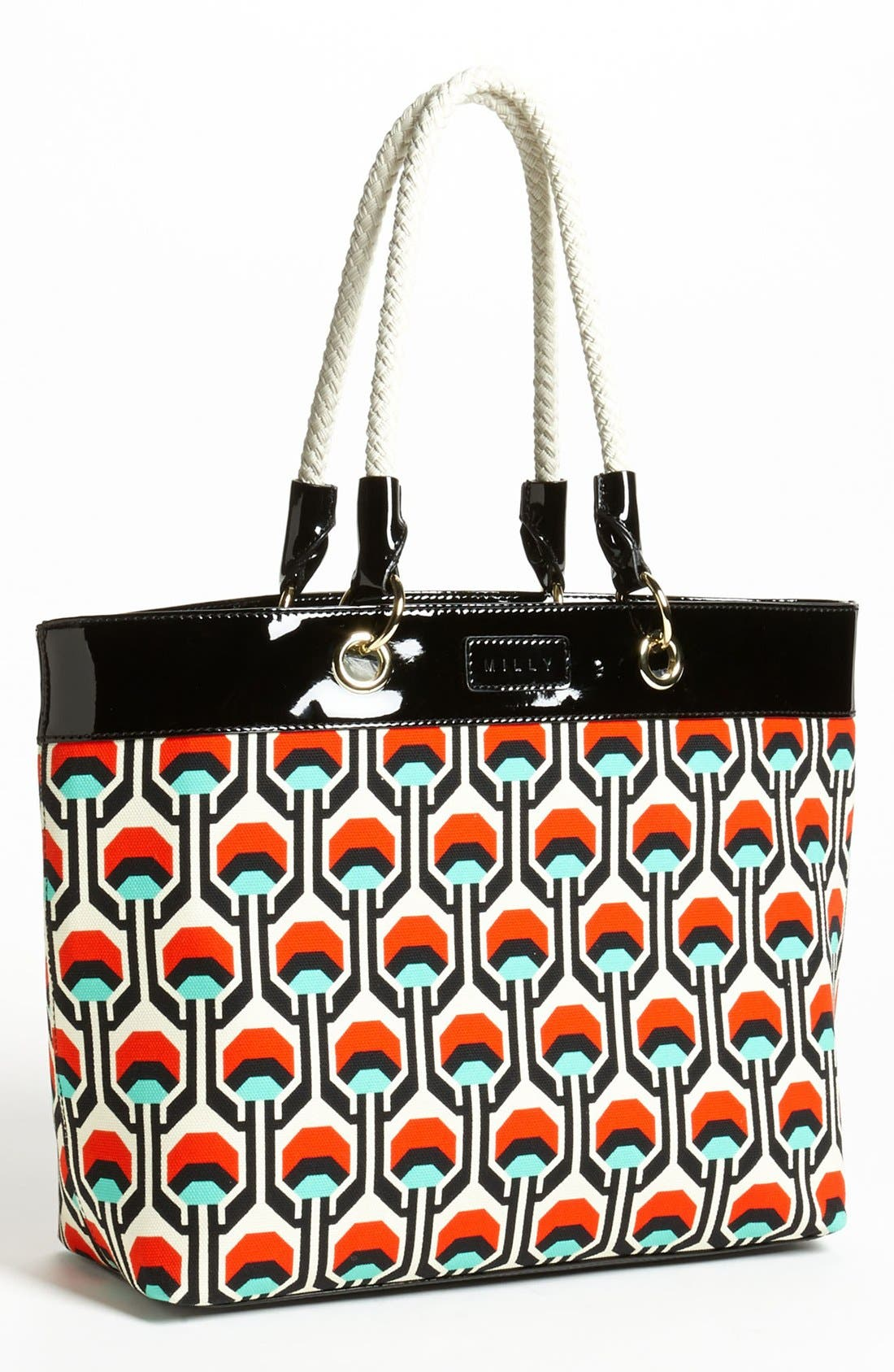 Alternate Image 1 Selected - Milly 'Tribal' Canvas Tote