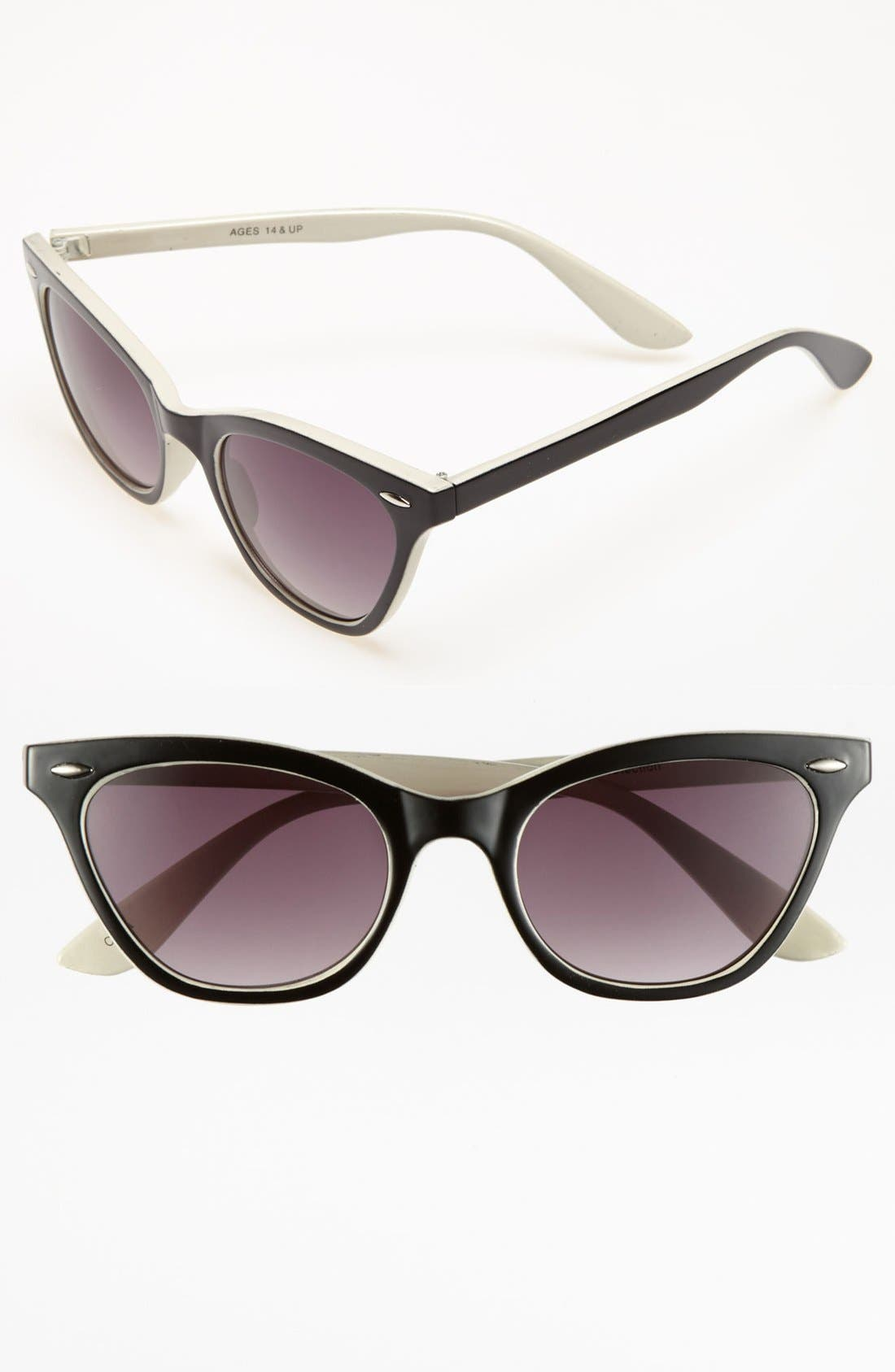 Alternate Image 1 Selected - FE NY 'Wink' Sunglasses