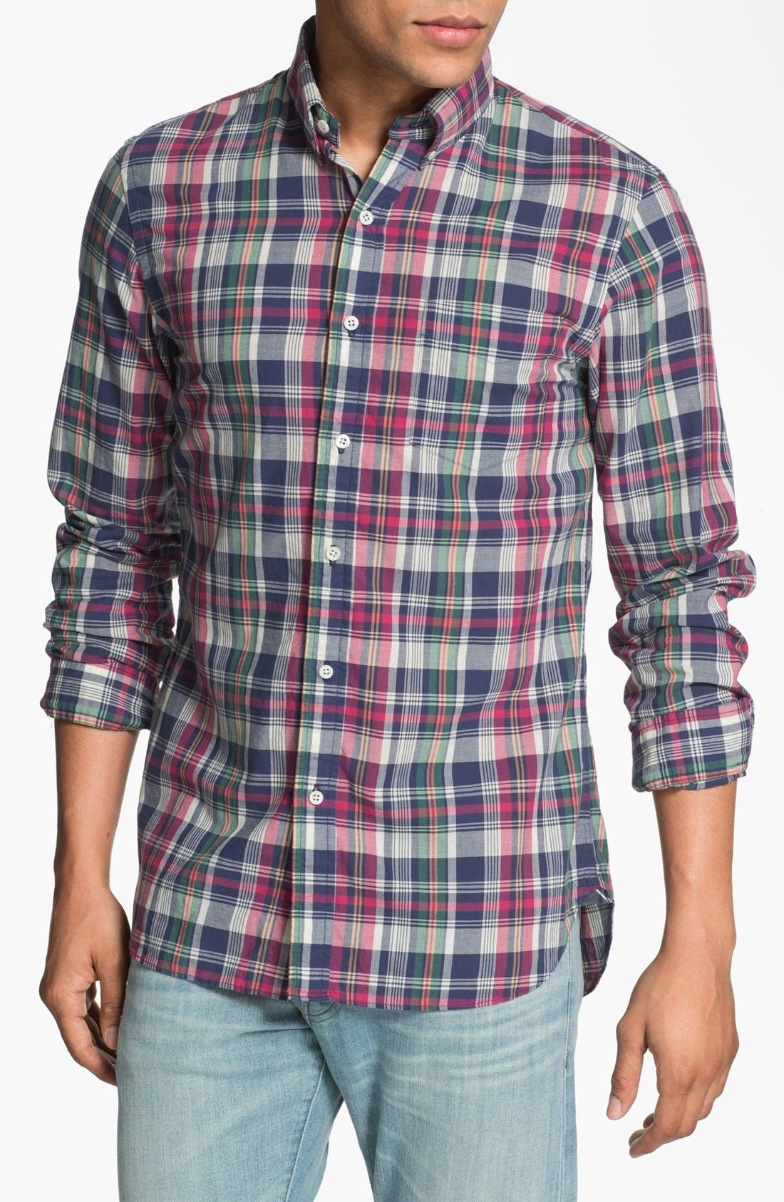 Main Image - J. Press York Street Regular Fit Sport Shirt