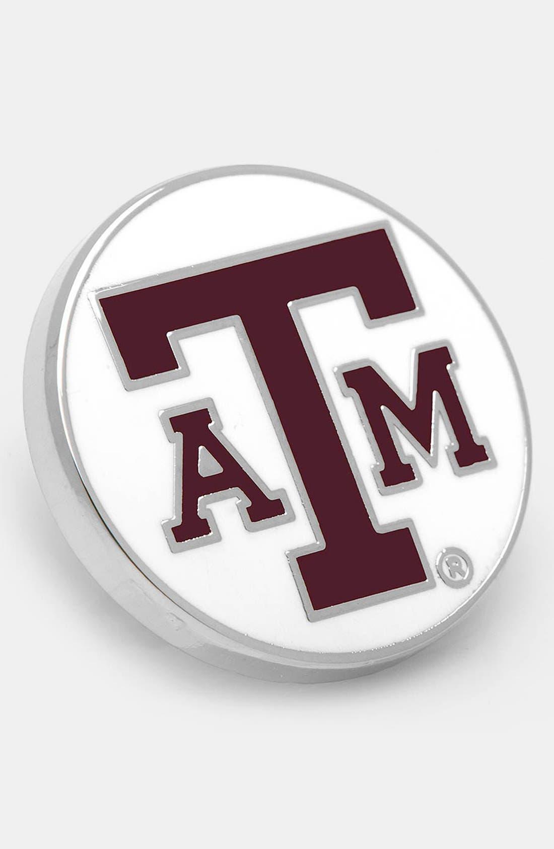 Alternate Image 1 Selected - Cufflinks, Inc. 'Texas A&M Aggies' Lapel Pin