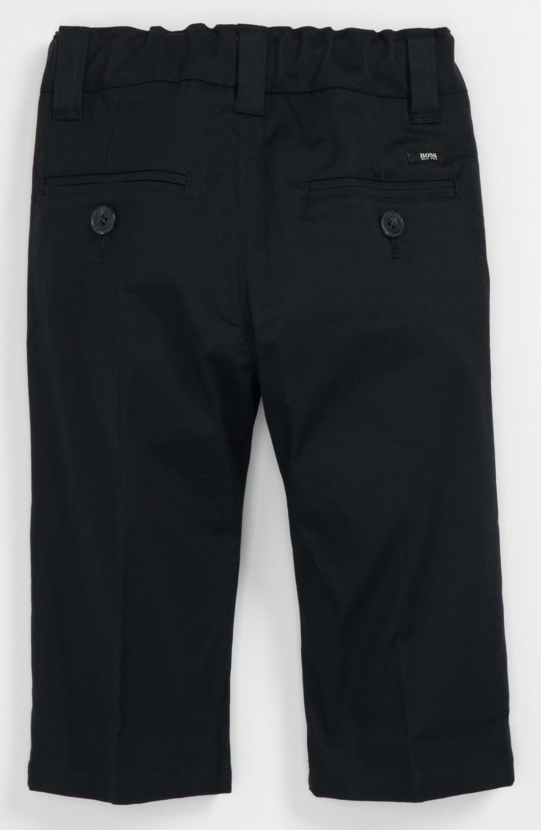 Alternate Image 2  - BOSS Kidswear Twill Pants (Baby)