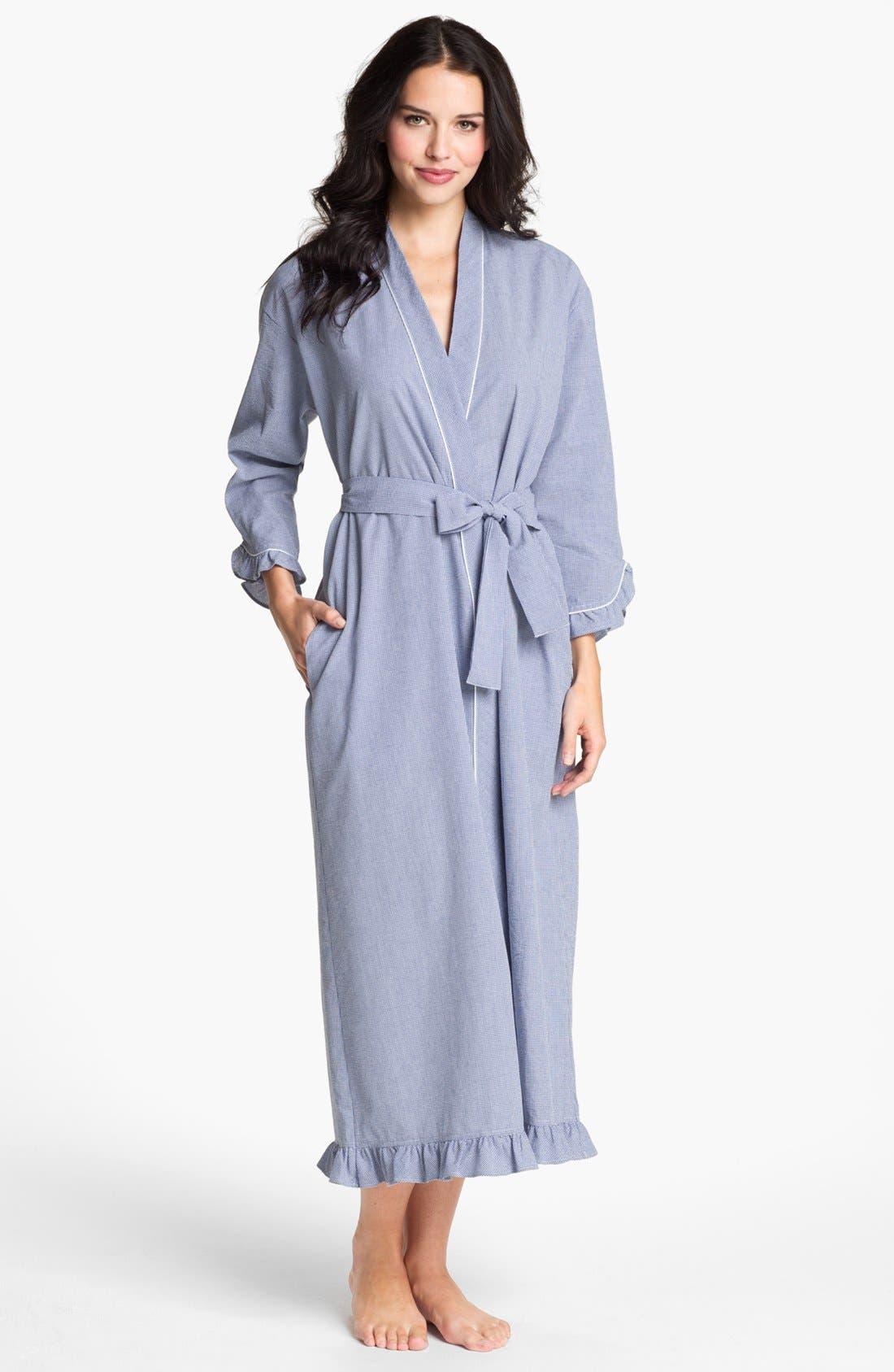 Alternate Image 1 Selected - Eileen West 'Starfish' Ruffled Robe