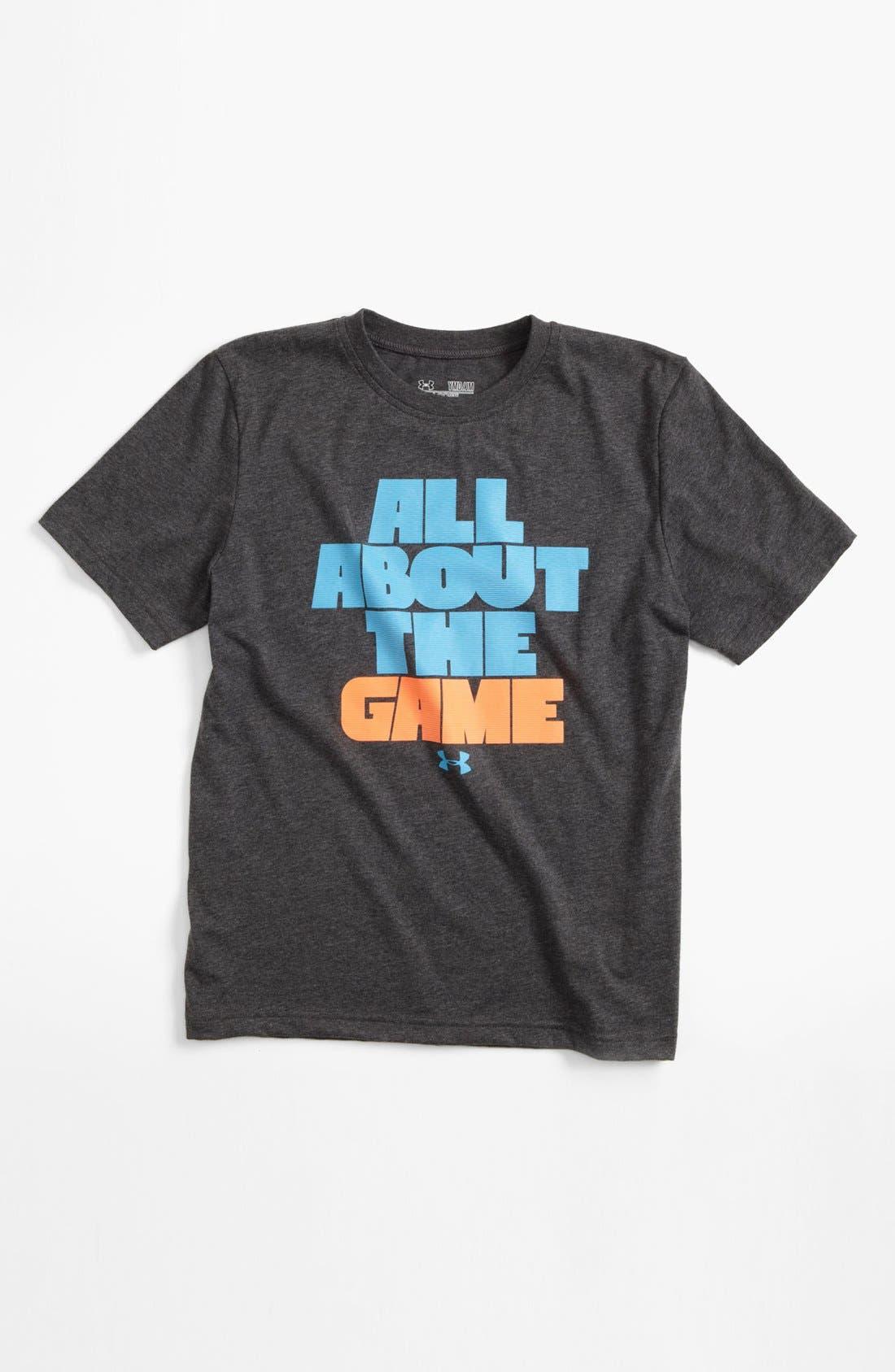 Main Image - Under Armour Graphic T-Shirt (Big Boys)