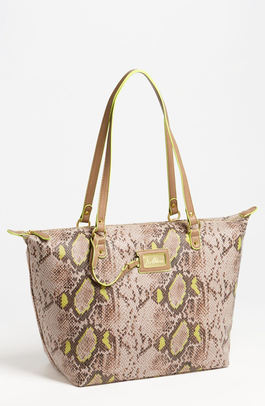 Alternate Image 1 Selected - Sam Edelman 'Signature Miranda' Zip Tote